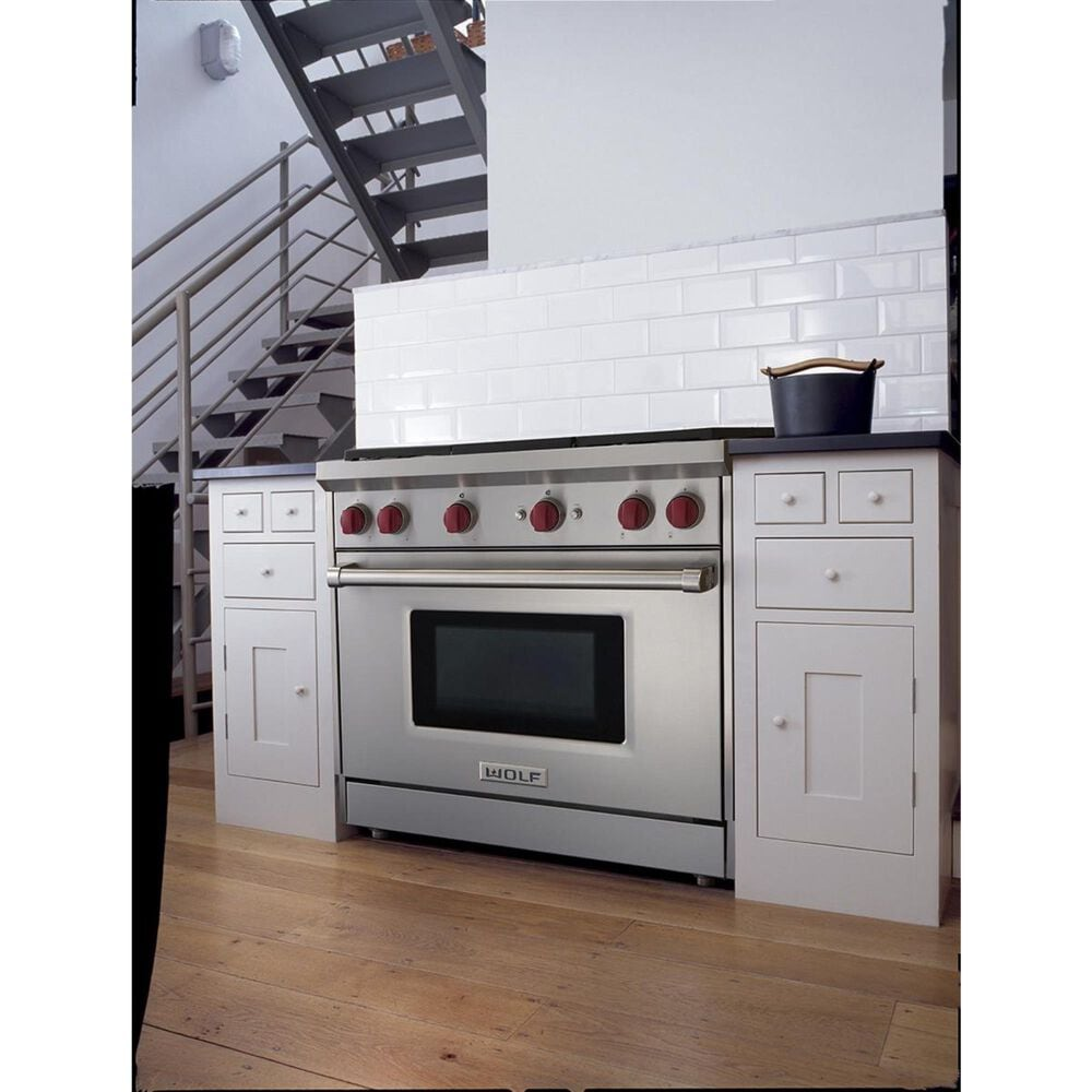 """Wolf 36"""" Professional Gas Range with 6 Burners, , large"""