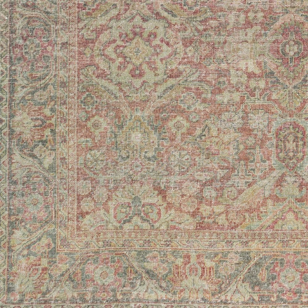 Surya Unique UNQ-2303 2' x 3' Olive, Teal and Rust Area Rug, , large