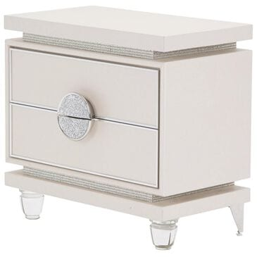 Vista Haus Glimmering Heights Nightstand in Ivory, , large