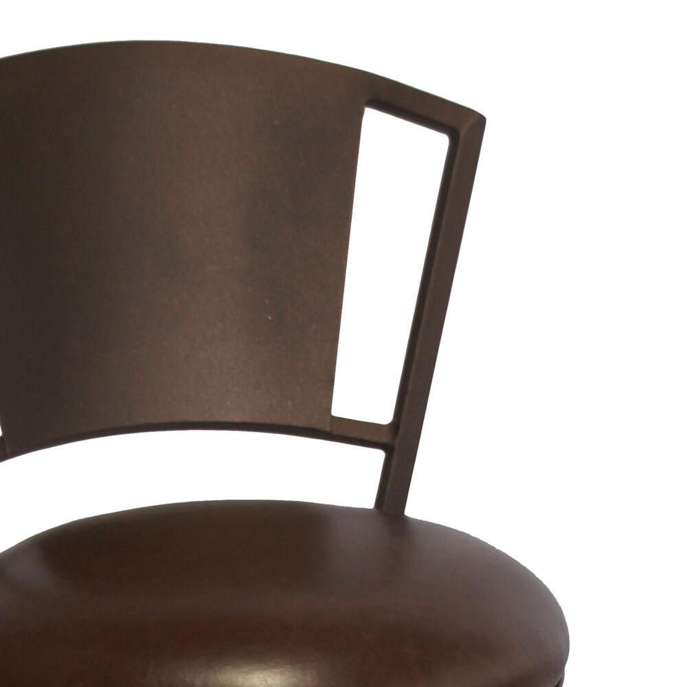 """Delaware Dining Bristol 26"""" Swivel Barstool in Sun Bronze/Dark Brown, , large"""