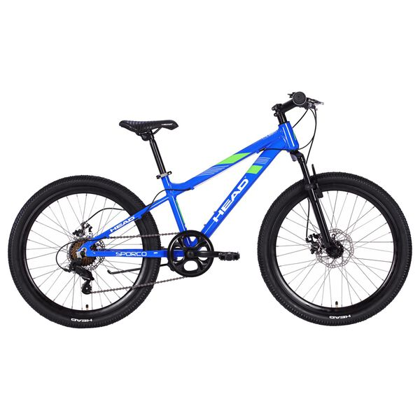 HEAD 24 Inch Sporco 7-Speed Bicycle in Blue
