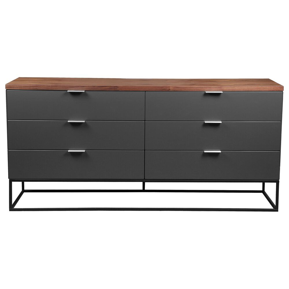 Moe's Home Collection Leroy Low Dresser in Brown, , large