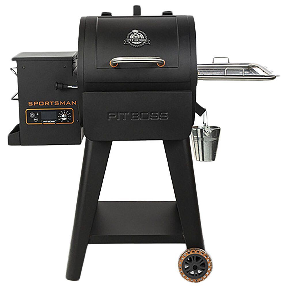 Pit Boss Sportsman 500 Wood Pellet Grill in Black and Orange, , large