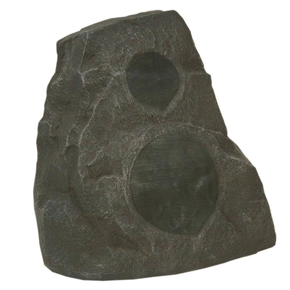 Klipsch Outdoor Rock Speaker in Granite (Each), Gray, large