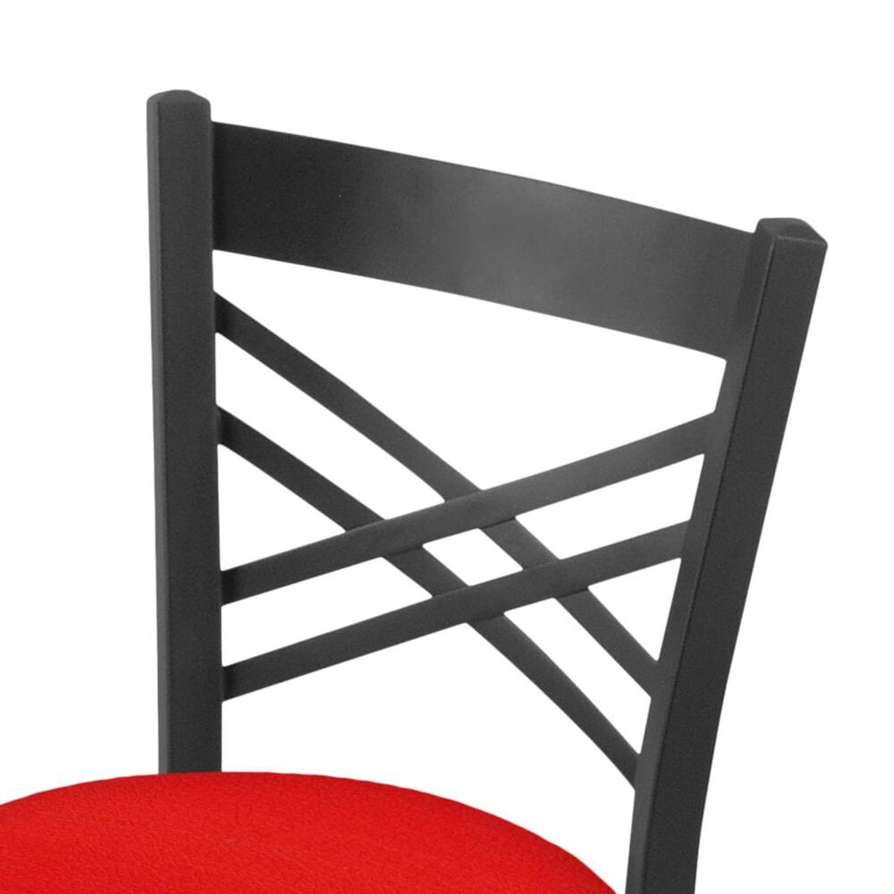 """Holland Bar Stool 620 Catalina 18"""" Chair with Pewter and Canter Red Seat, , large"""