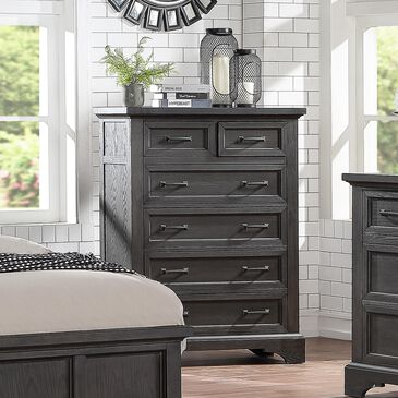 Frankfurt Furniture Prescott Chest in Gray Oak, , large