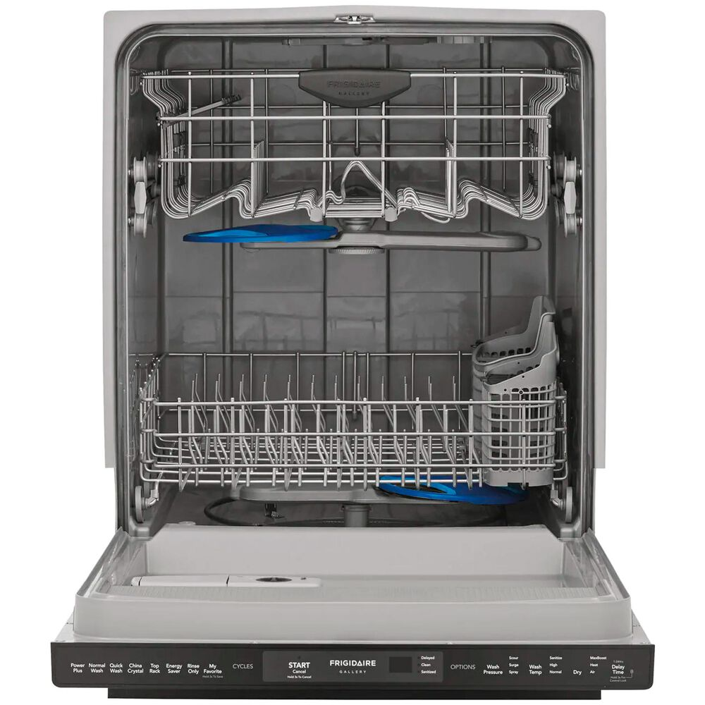 """Frigidaire Gallery 24"""" Built-In Dishwasher with Dual OrbitClean Wash System in Black Stainless Steel , , large"""