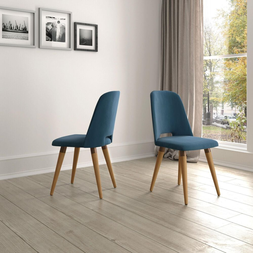 Dayton Selina Side Chair in Blue (Set of 2), , large