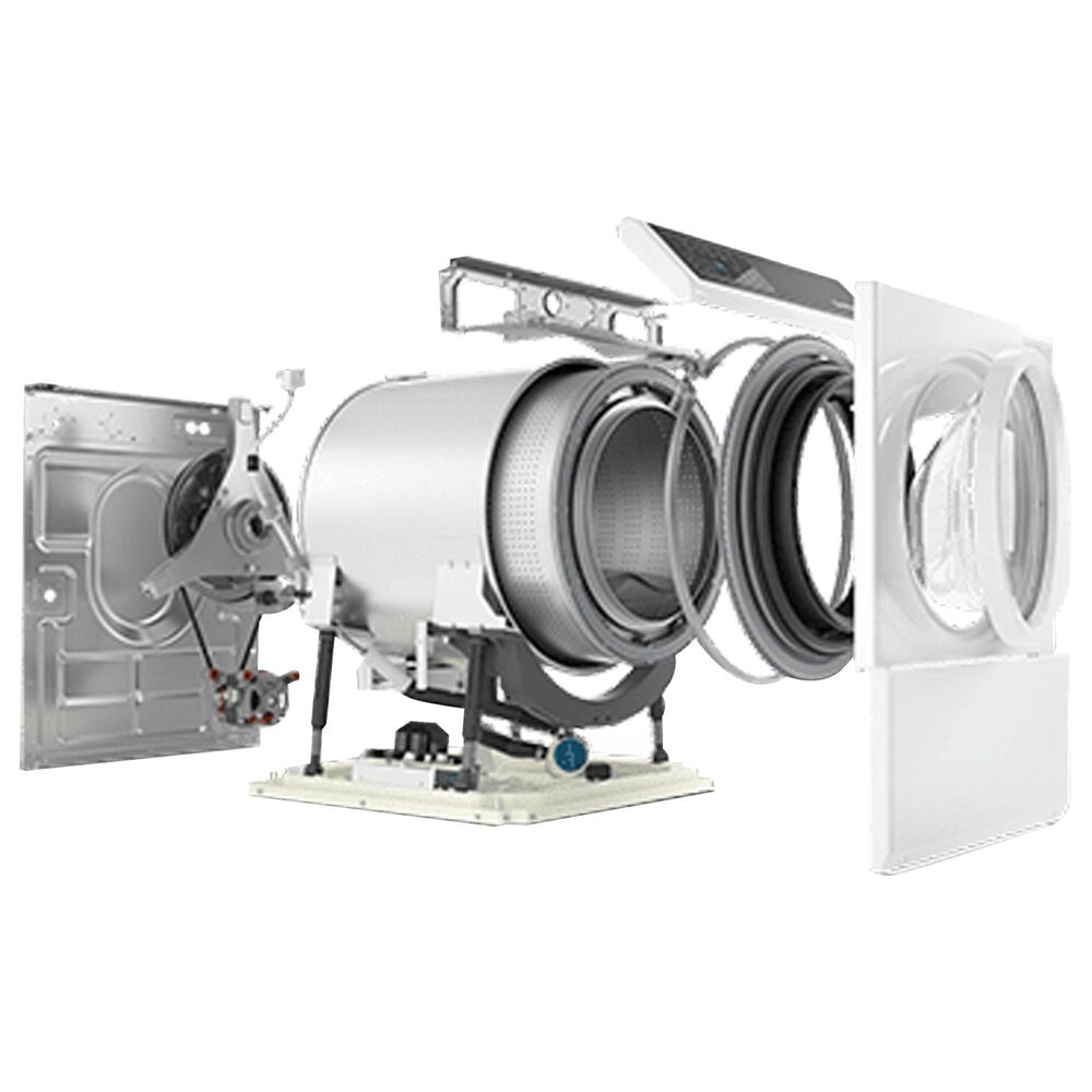 Speed Queen 3.5 Cu. Ft. Front Load Washer Right Hinge in White, , large