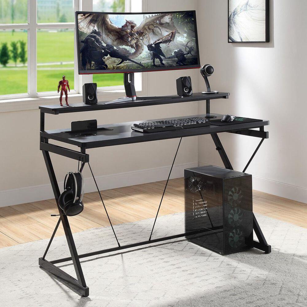 OSP Home Emulator Gaming Desk, , large