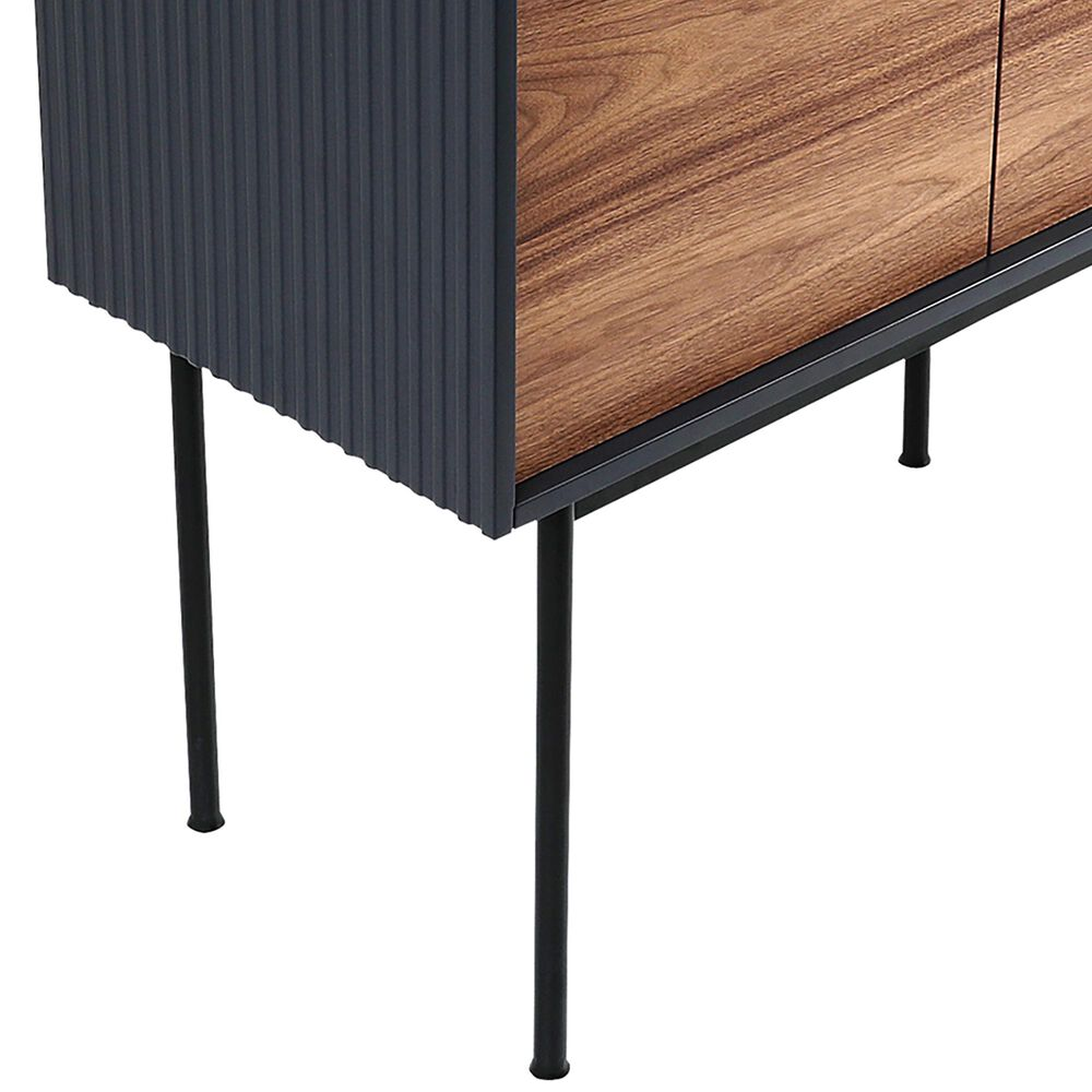 Moe's Home Collection Yasmin Bar Cabinet in Brown with Matte Lacquer Finish, , large