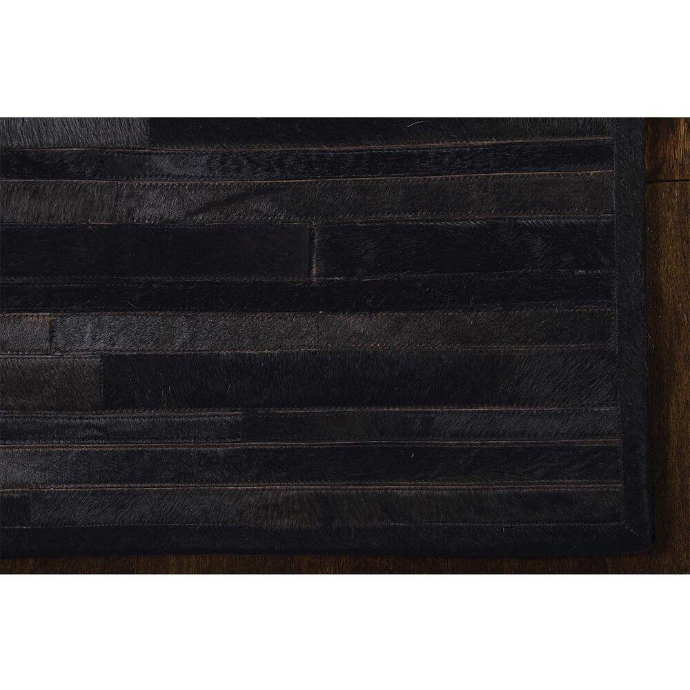 """Calvin Klein Home Prairie CK17 PRA1 5'6"""" x 7'5"""" Black Area Rug, , large"""