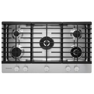 "KitchenAid 36"" 5-Burner Gas Cooktop , , large"