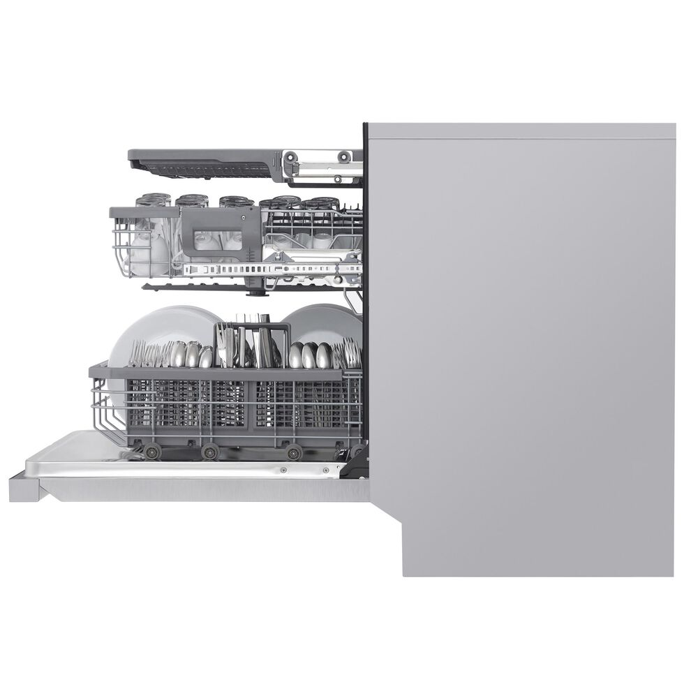 """LG 24"""" Smart Fully Integrated Dishwasher in Stainless Steel, , large"""