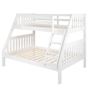 Cambria Designs Twin/Full Bunkbed in White, , large