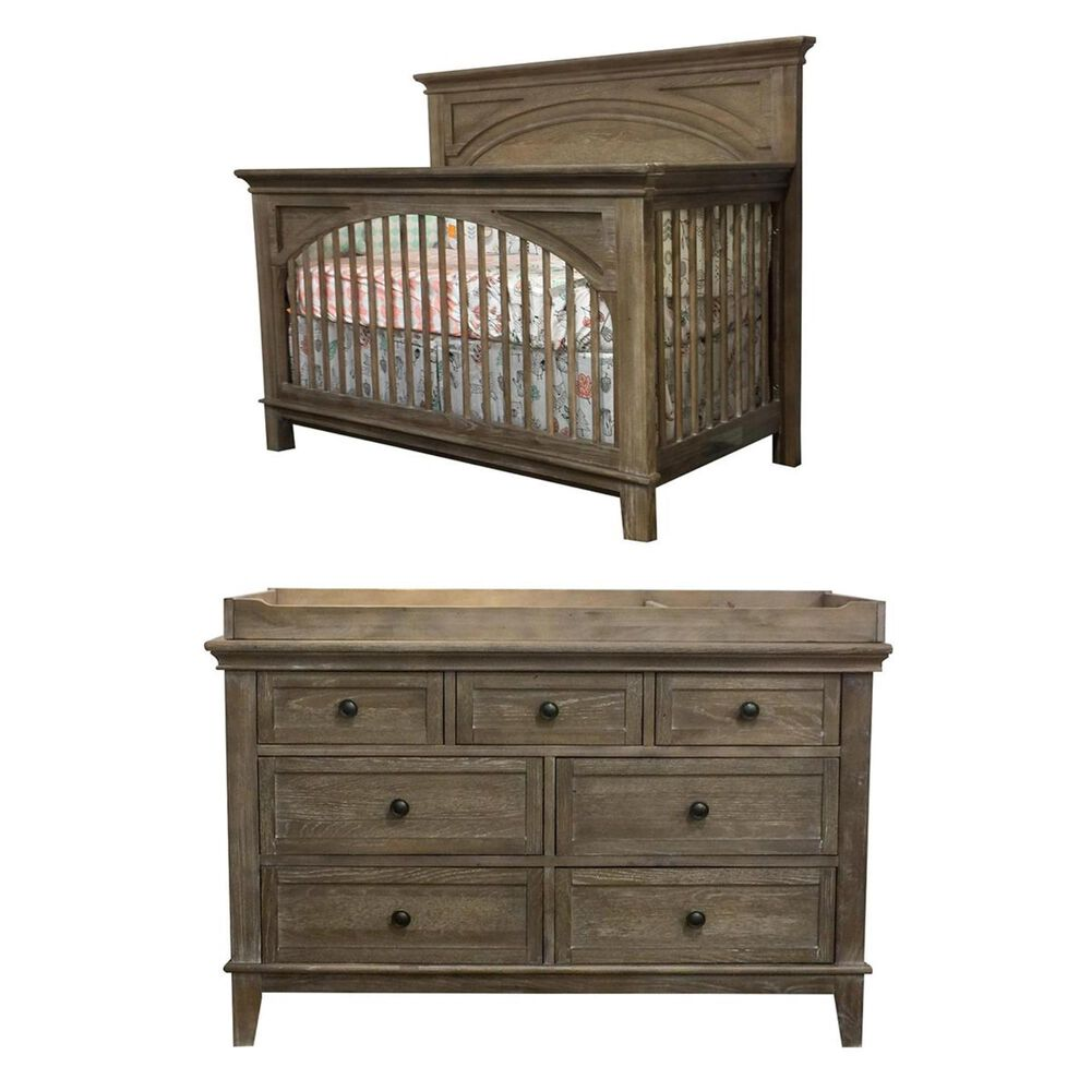 Eastern Shore Leland 3 Piece Nursery Set in Sandwashed, , large