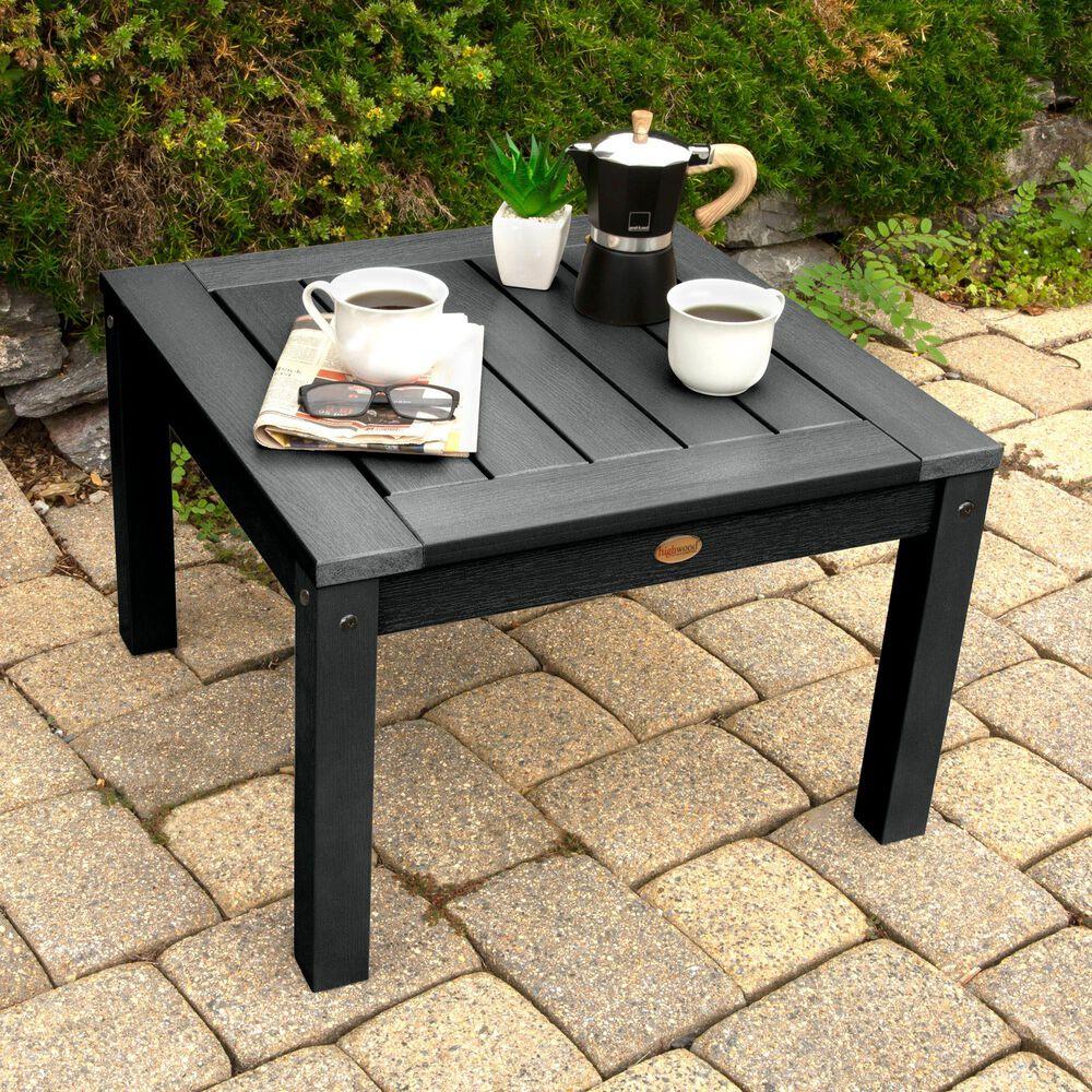 Highwood USA Adirondack Side Table in Black, , large