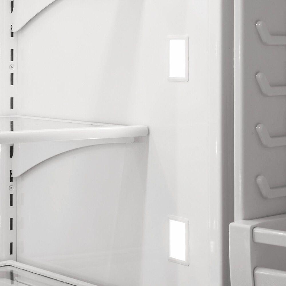 "Viking Range 36"" Bottom Freezer Refrigerator with Right Hinge in Apple Red, , large"