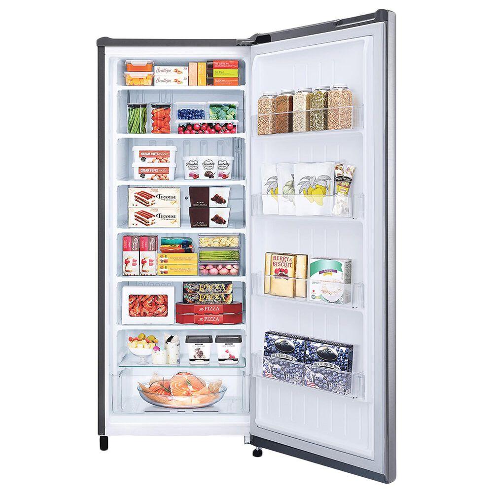 LG 5.8 Cu. Ft. Single Door Freezer Refrigerator in Platinum Silver, , large