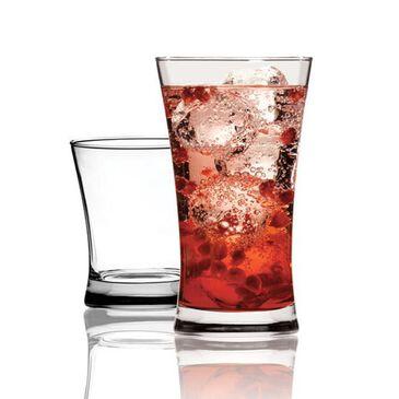 Anchor Hocking 16pc Linden Drink set, , large