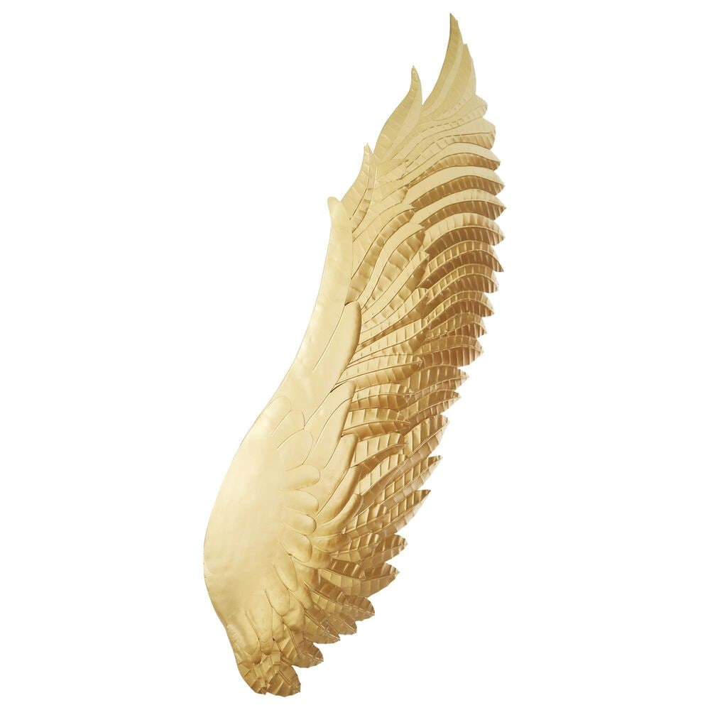 Moe's Home Collection Wings Wall Decor in Gold, , large