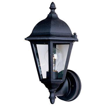 """Maxim Lighting Westlake 11"""" HCO 1-Light Outdoor Wall Lantern in Black, , large"""