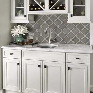 "MS International Highland Park Dove Gray 15"" x 11"" Ceramic Mosaic Sheet, , large"