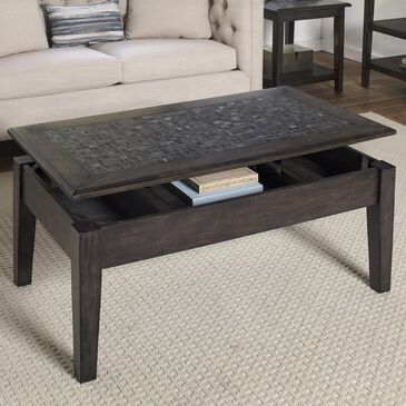 Waltham Lift-Top Cocktail Table in Grey, , large
