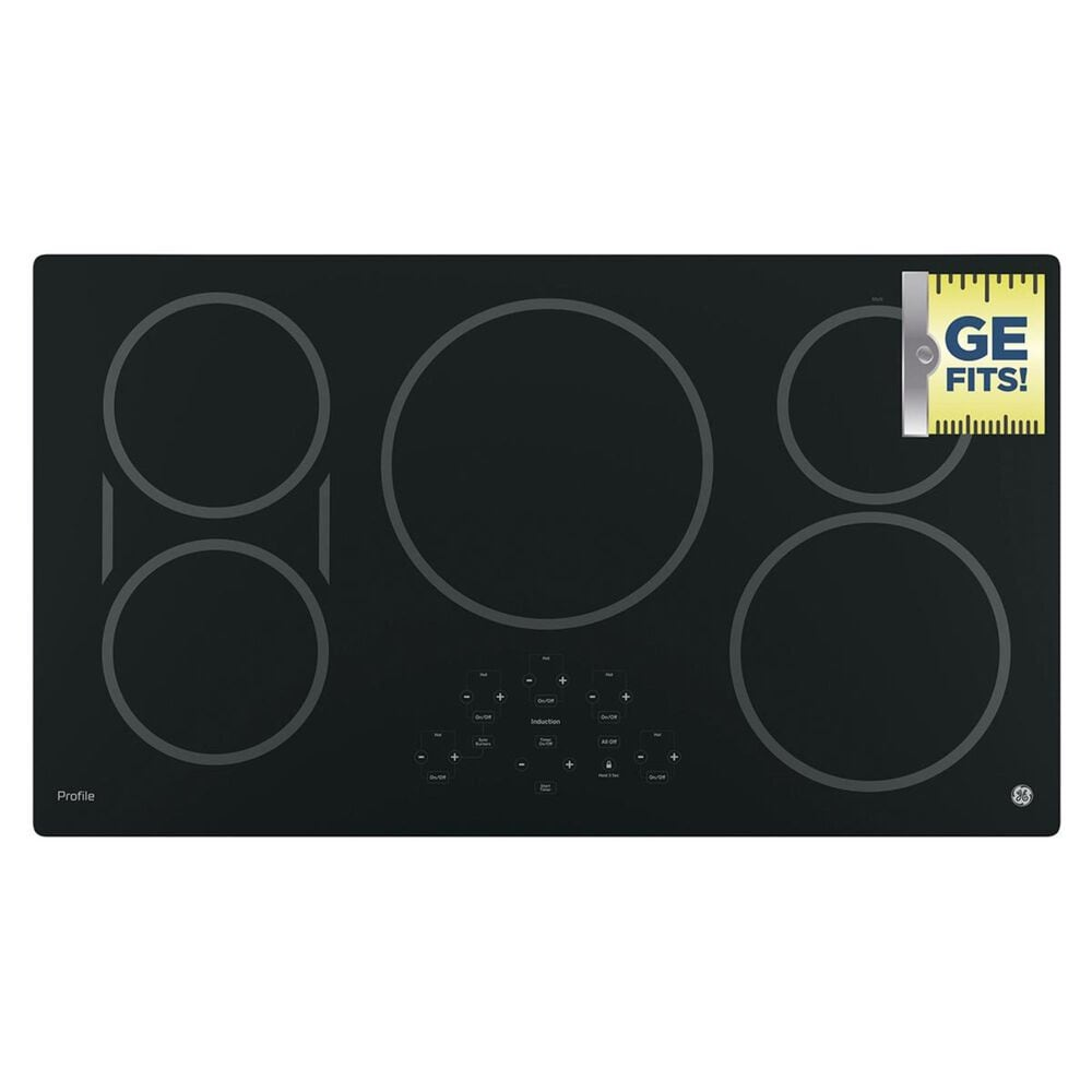 """GE Profile 36"""" Built-in Touch Control Induction Cooktop, , large"""