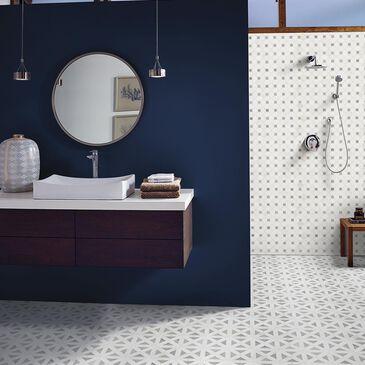"MS International Bianco Dolomite Grey and White 12"" x 12"" Polished Natural Stone Tile, , large"