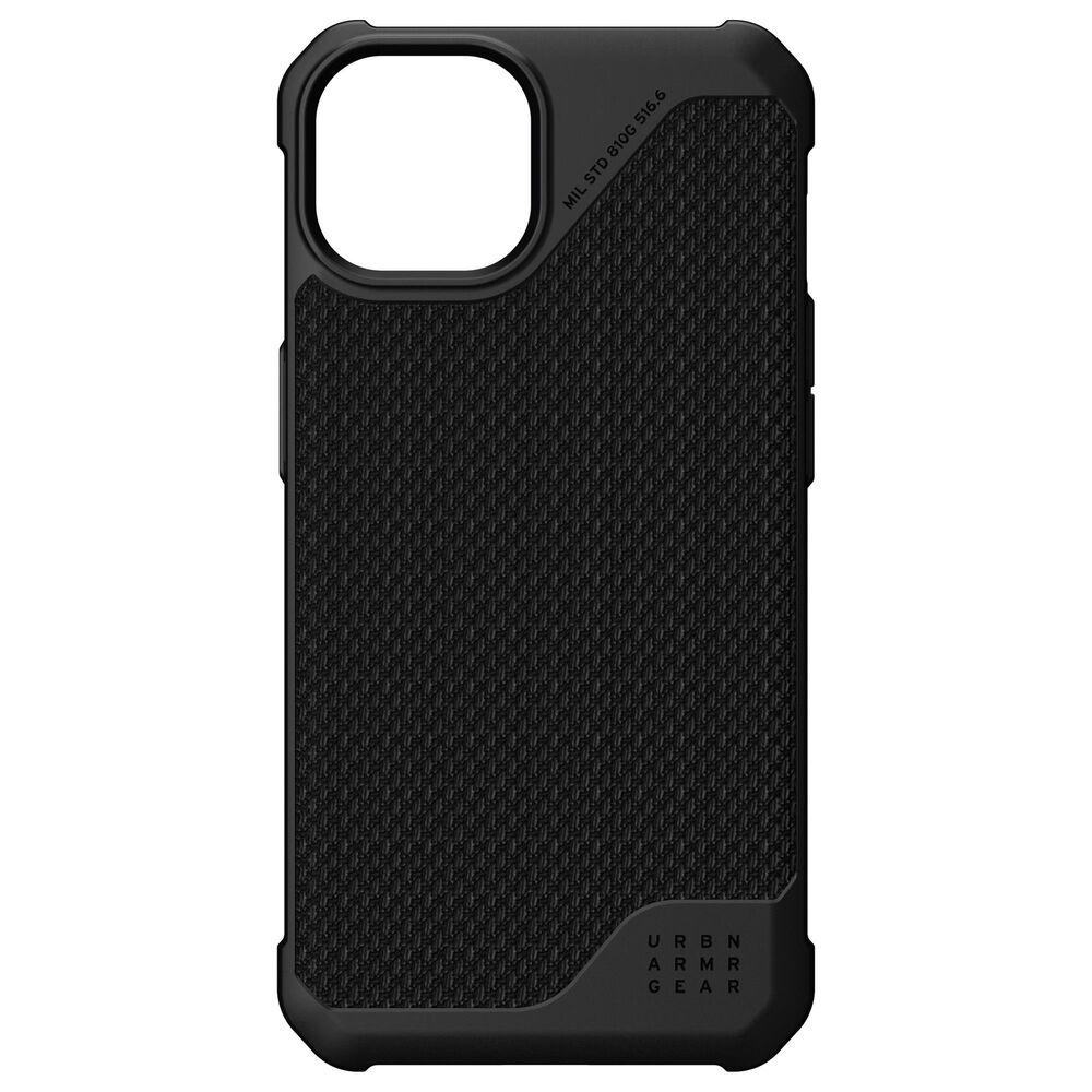 UAG Metropolis Lite Case for iPhone 13 in Kevlar Black, , large