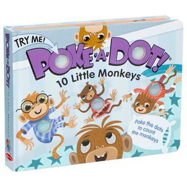 Melissa & Doug Poke-A-Dot: 10 Little Monkeys, , large