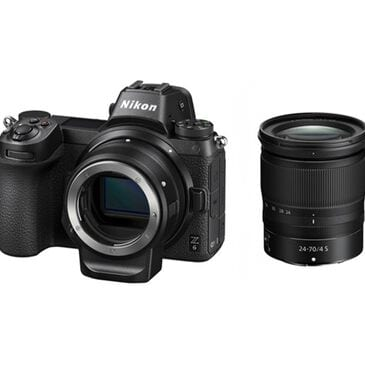 Nikon Z6 FX-Format Mirrorless Camera Body with NIKKOR Z 24-70mm Lens + FTZ Mount Adapter, , large