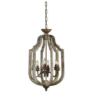 Southern Lighting Camilla Chandelier in Brown and Cream, , large