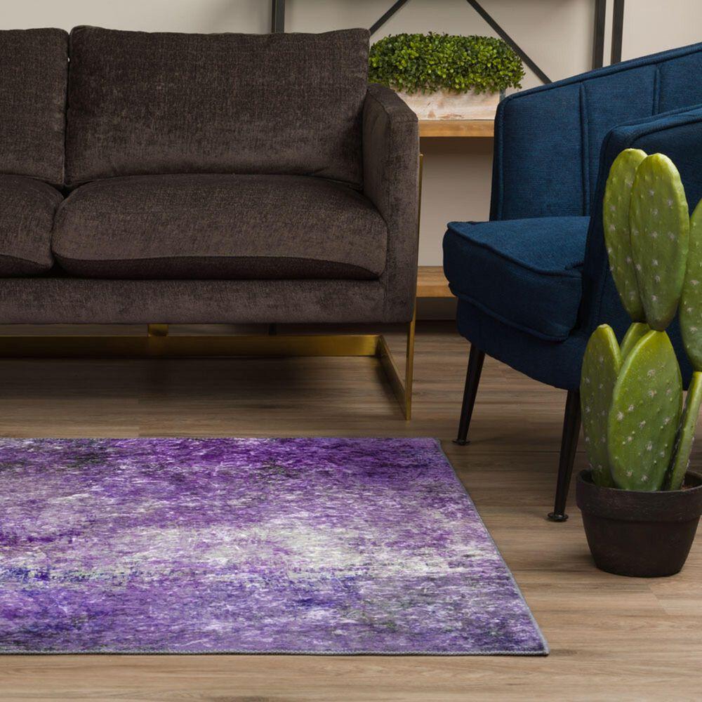 Dalyn Rug Company Nebula NB5 8' x 10' Orchid Area Rug, , large