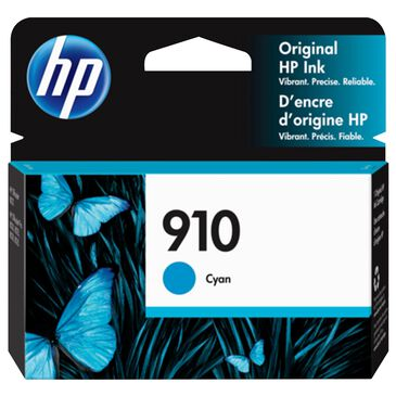 HP 910 Cyan Ink Cartridge, , large