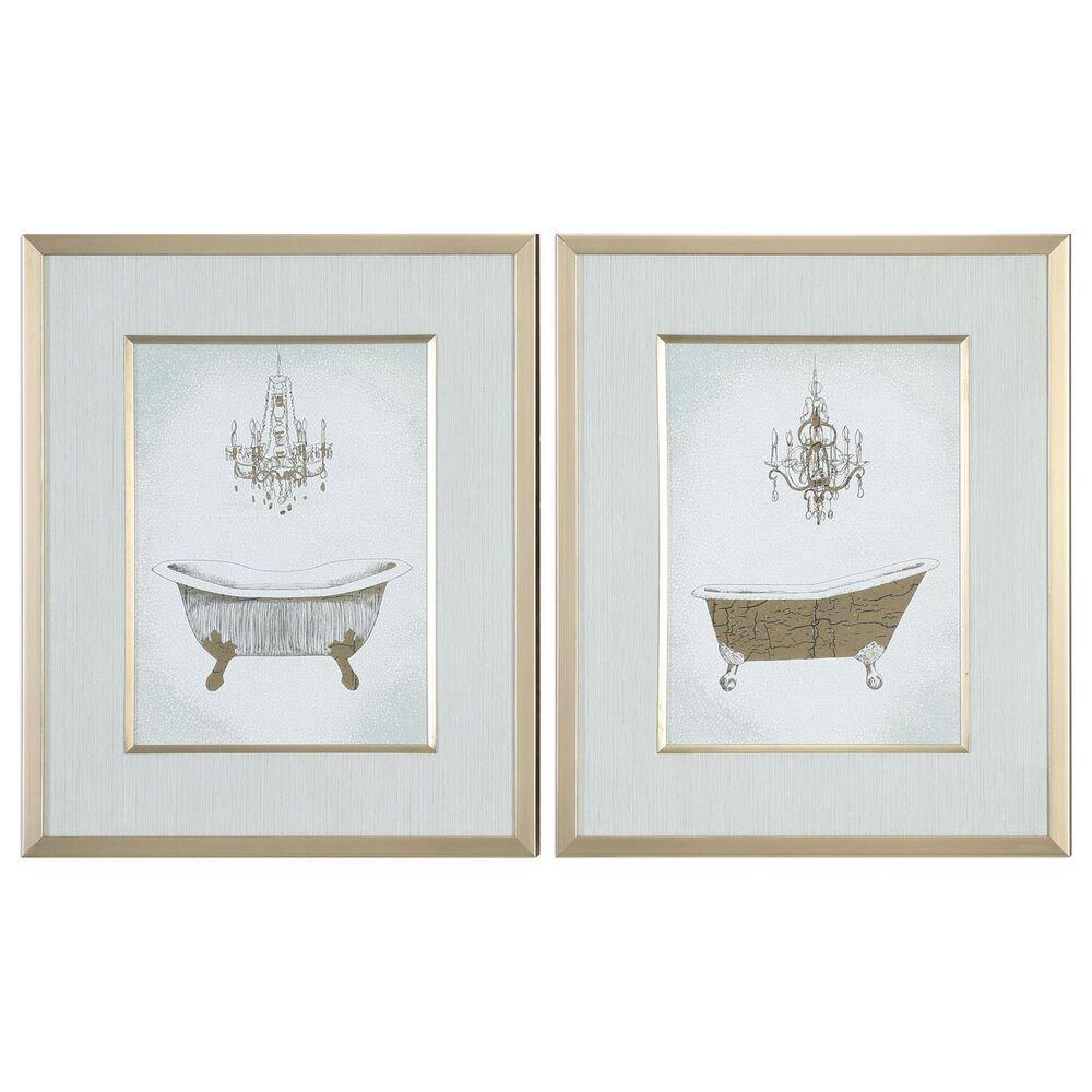 Uttermost Gilded Bath Prints (Set of 2), , large
