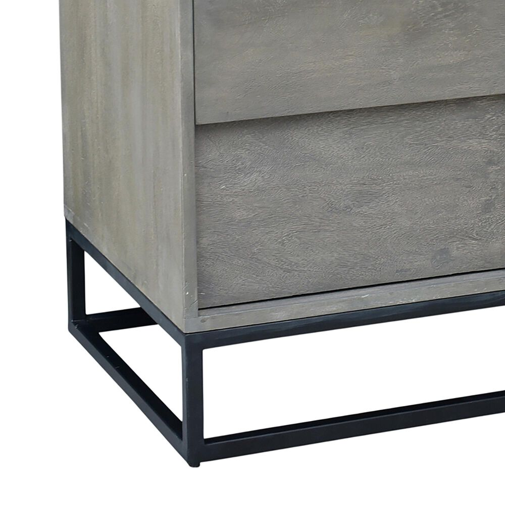Moe's Home Collection Felix 6 Drawer Dresser in Grey, , large