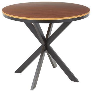 Lumisource Dakota Dinette Table in Walnut/Walnut, , large