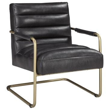Signature Design by Ashley Hackley Accent Chair in Black, , large