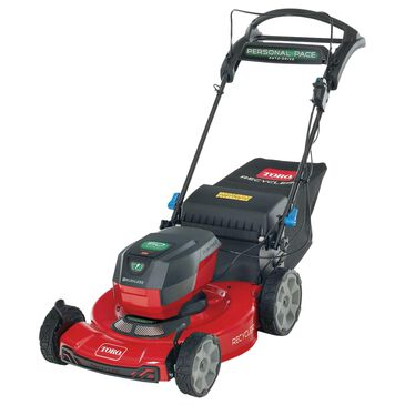 """Toro 22"""" Max Electric Battery SmartStow Personal Pace Auto-Drive High Wheel Mower, , large"""