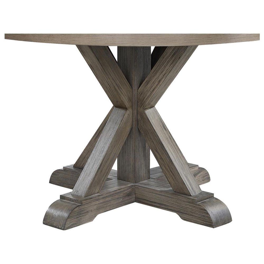 Crystal City Molly Dining Table in Light Brown With a Grey Washed - Table Only, , large