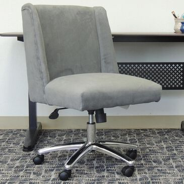 Regal Co. Mid Back Office Chair in Charcoal Gray, , large