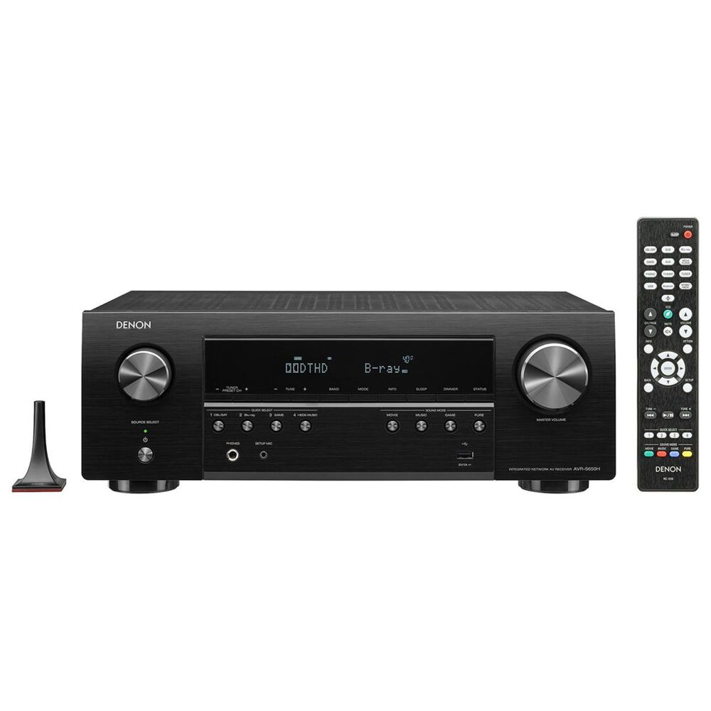 Denon 5.2 Channel AV Receiver with Voice Control, , large