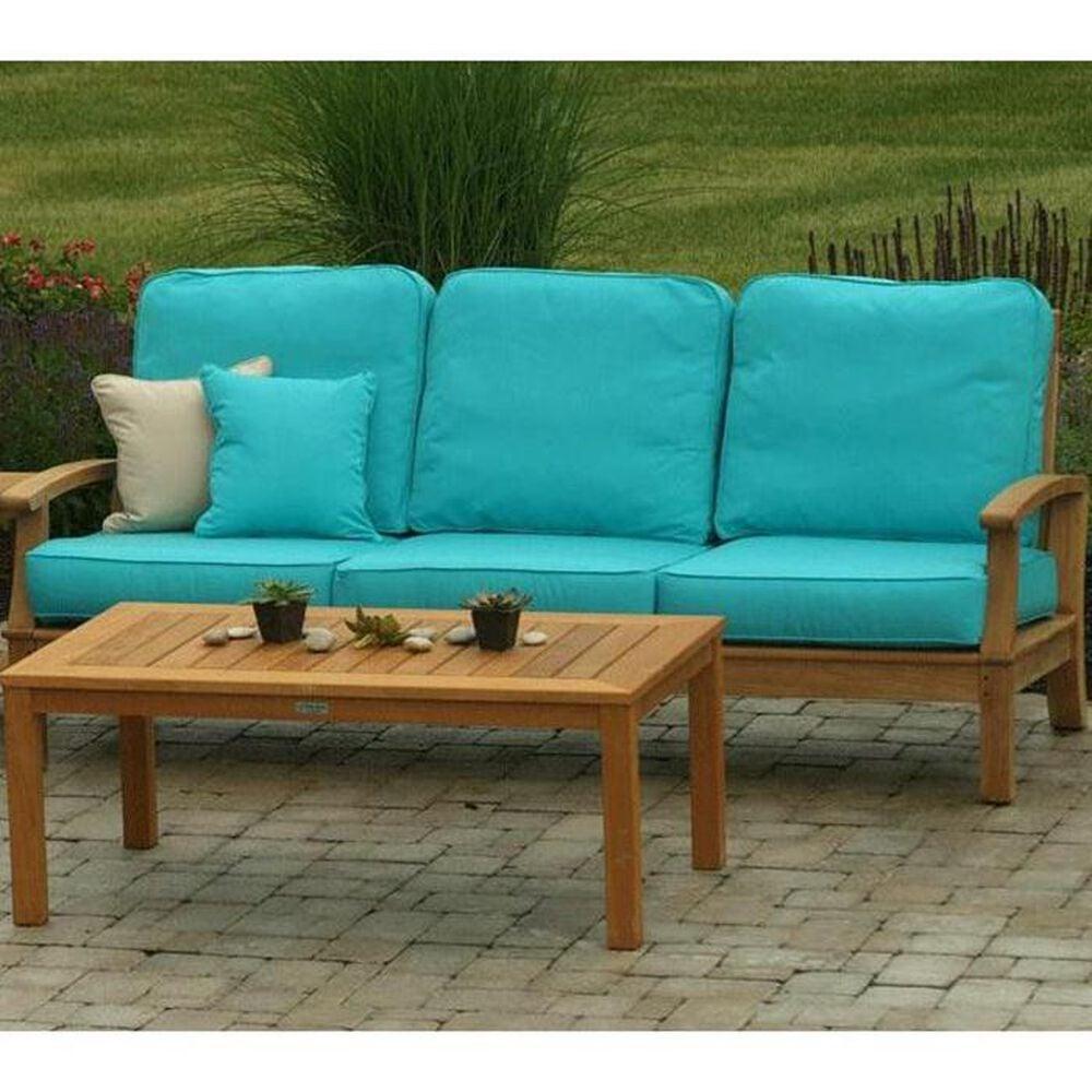 Three Birds Casual Monterey 3 Seat Sofa in Natural Teak, , large
