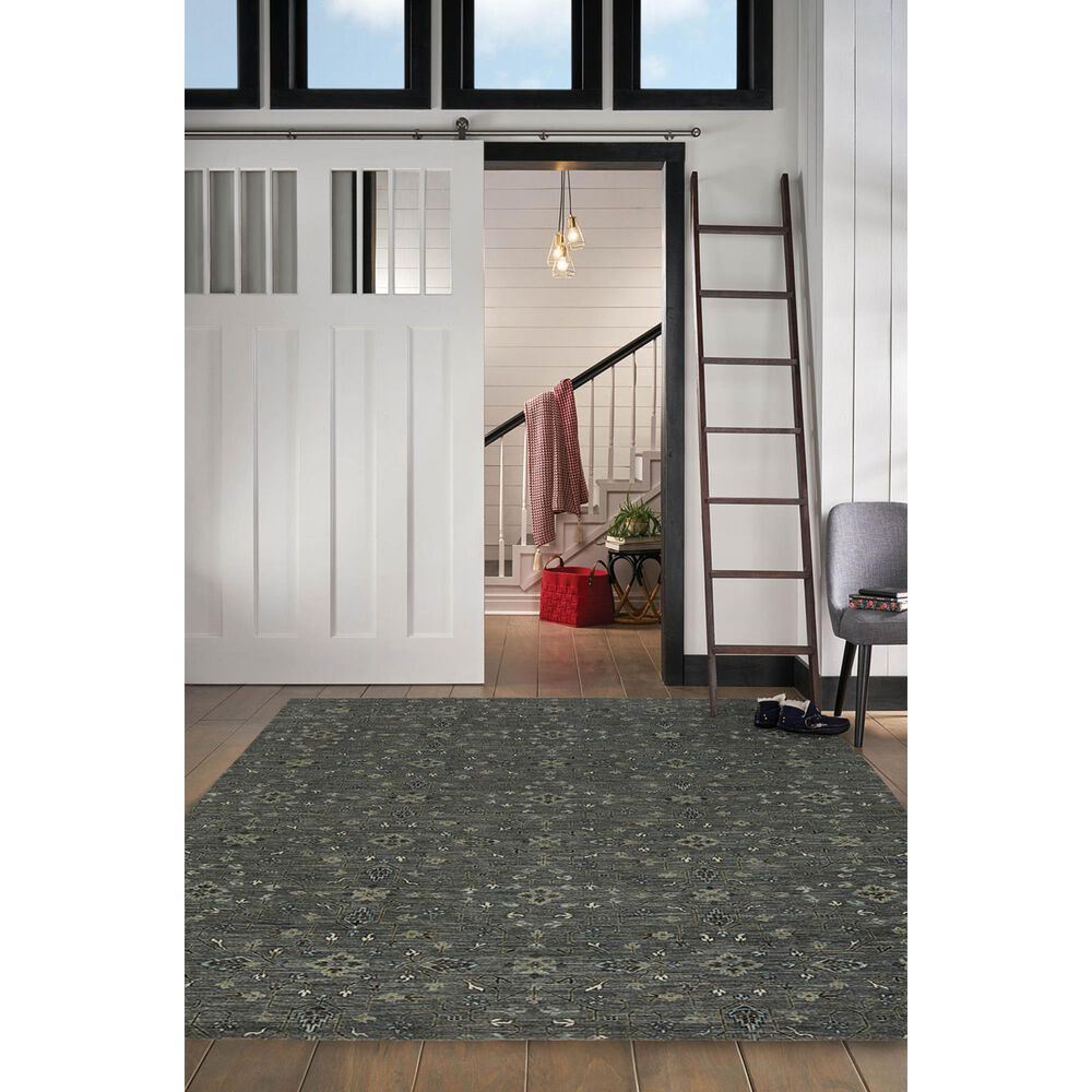 Capel Ethereal 1084-340 6' x 9' Steel Area Rug, , large