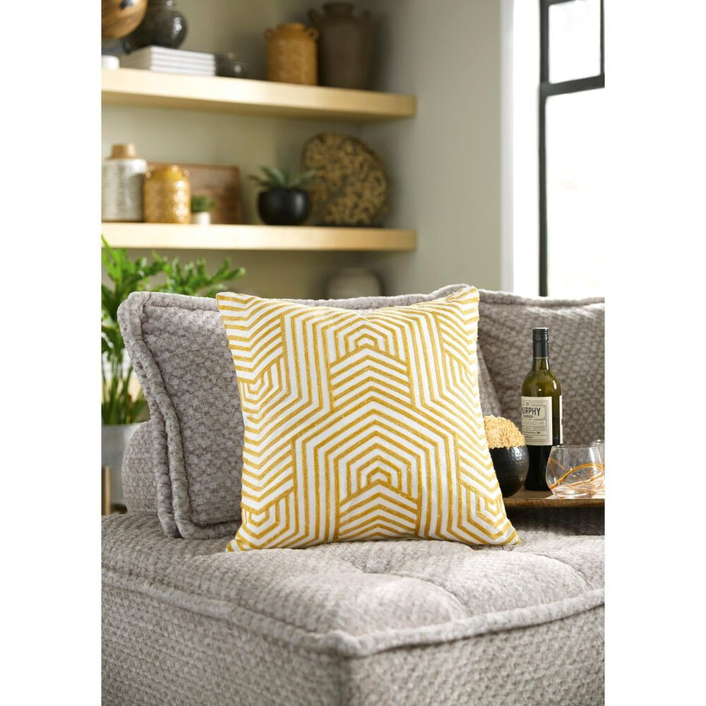 Signature Design by Ashley Adrik Pillow in Golden Yellow, , large