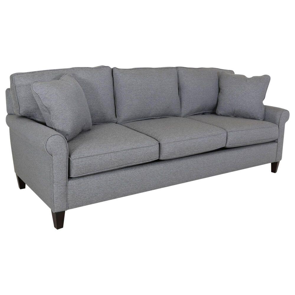 Fulton Home Maxwell Queen Sleeper Sofa in Steel Blue, , large