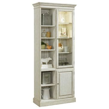 "Chapel Hill 32.25"" PFC Curio in Antique White, , large"