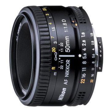 Nikon AF Nikkor 50mm f/1.8D Lens, , large